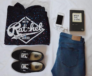 vans, fashion, and hipster image