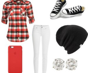 beanie, converse, and leggings image
