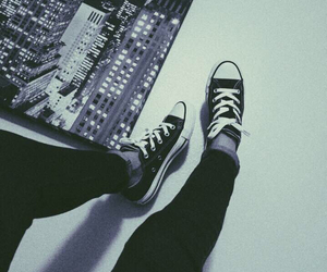 converse, grunge, and nyc image