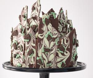 buttercream, cake, and chocolate image