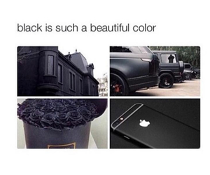 black, iphone, and car image