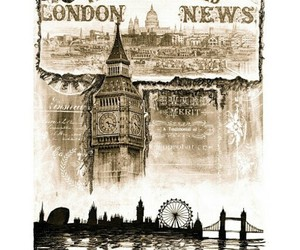 Big Ben, london, and old image