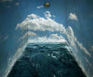 room, sea, and sky image
