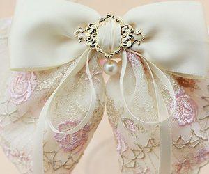 pretty, ribbon, and rose image
