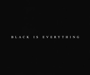 black, everything, and quotes image