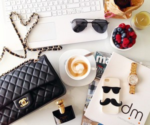 blogger, breakfast, and chanel image