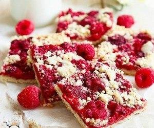 cake and raspberry image