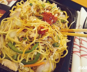 food, japanese, and noodles image
