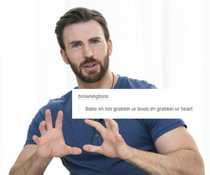 chris evans and tumblr image