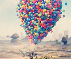 up and balloons image