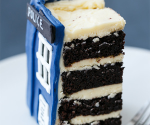 doctor who, cake, and sweet image