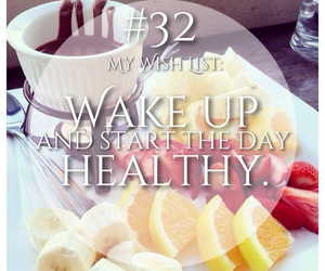 fitness, healthy, and wake up image