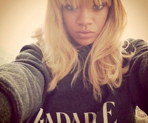 rihanna, blonde, and riri image