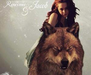 jacob black, renesmee cullen, and twilight fan art image
