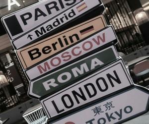london, paris, and travel image