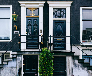 black, house, and amsterdam image
