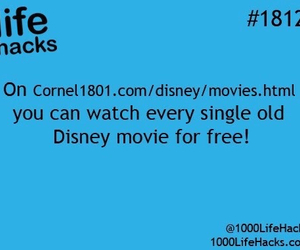 hacks, disney, and life hacks image