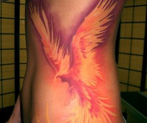 ink, lifestyle, and phoenix image