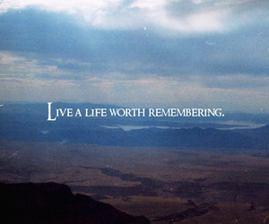 quote, life, and remember image