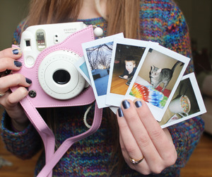 polaroid, tumblr, and camera image