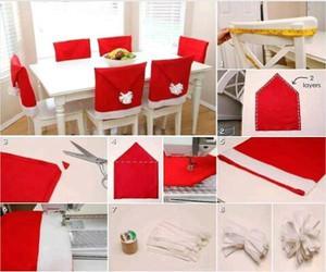 diy, christmas, and red image