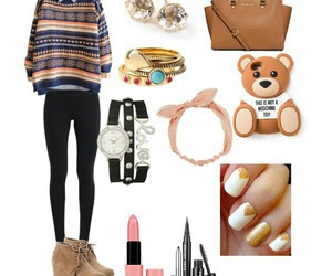 fashion, Polyvore, and moschino toy image