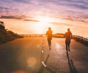 run, running, and fitness image