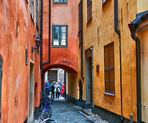 stockholm, street, and traveling image