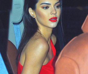 red and kendall jenner image
