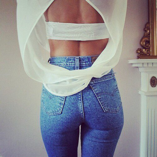 ass, back, and beautiful image