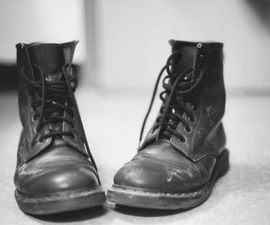 boots, vintage, and shoes image