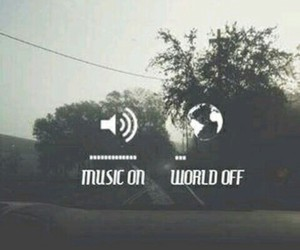 music, off, and on image