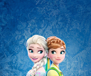 disney, elsa, and anna image