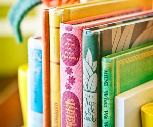book, colorful, and reading image