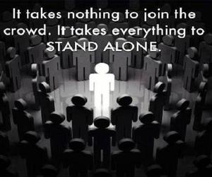 everything, nothing, and stand alone image