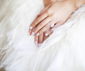 wedding, ring, and bride image