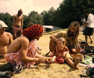 dad, love, and hippie image