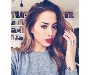 blogger, girl, and makeup image