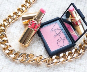 makeup, lipstick, and nars image