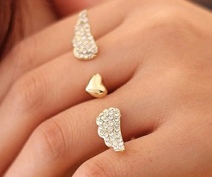 fashion, jewelry, and heart image