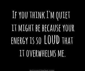 introvert and empath image
