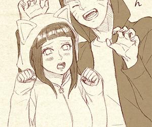 hinata, naruto, and anime image