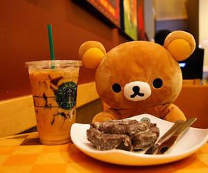 starbucks, cute, and bear image