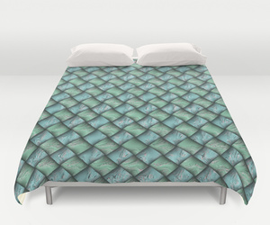 bedding, green, and pattern image