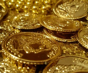 gold, coins, and treasure image