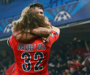 thiago silva, david luiz, and psg image