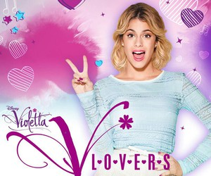violetta, martina stoessel, and v-lovers image