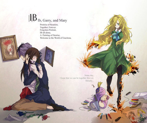 ib, mary, and garry image