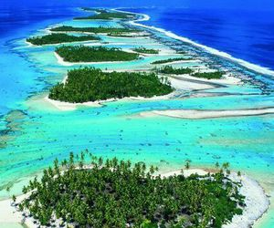 Island, heart, and beach image