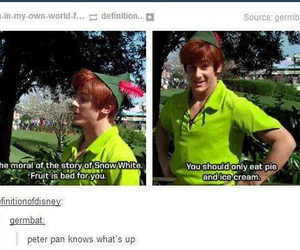 disney, peter pan, and funny image